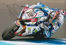 Leon CAMIER 12x8 SIGNED Grand Prix Suzuki Crescent Photo Autograph AFTAL COA