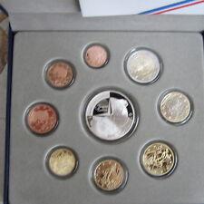 coffret serie euros 2011 avec 10 euro argent Jacques Cartier BE belle épreuve