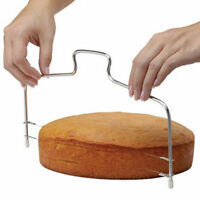 Adjustable Wire Cake Slicer Cutter Leveller Decorating Bread Wire Decor Tools KY
