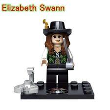 Elizabeth Swann Pirati dei Caraibi Custom minifigura lego si adatta