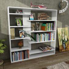 Bücherregal Aufbewahrungsregal Raumteiler Regal Wandregal Handy Weiß