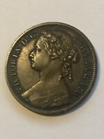 1874 H Great Britain United Kingdom One Penny - REALLY NICE (XF) - VIEW PHOTOS!!