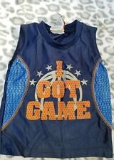 Baby Mad Game Extreme Sport Sleeveless Jersey 18 mths
