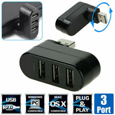 High Speed 3 Port USB 2.0 Multi HUB Splitter Expansion Desktop PC Laptop Adapter