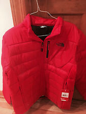 NWT North Face mens ACONCAGUA jacket Red Sz XL MSRP $160