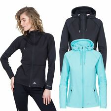 Trespass Dacre Womens Active Hooded Jacket Running Gym Workout Top
