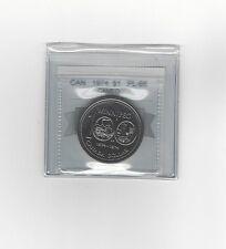 **1974** Coin Mart Graded Canadian Dollar **PL-66**