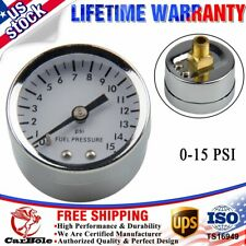 "High Performance 26-504 Chrome 1.5"" Fuel Pressure Gauge, 0 - 15 PSI Mechanical"