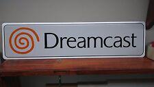 """Dreamcast Logo Aluminum Sign  6"""" x 24"""""""