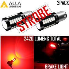 Alla 3496 33-LED Legal Brake Light Bulb|Stop|Tail|Turn Signal Blinking Flashing