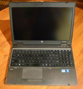 HP Probook 6560b (Win10 Pro Active NEW Battery Intel i7-2620M 8GB RAM 500GB HDD)