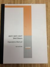 Case 85XT 90XT 95XT SKID STEER Operators Manual Operation Maintenance Book