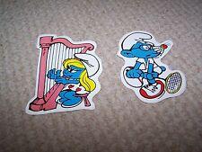 4 inch Smurf Stickers