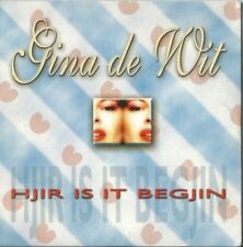 "Gina de Wit ""Hjir is it begjin"" Pre Sellection Netherlands Eurovision 2000"