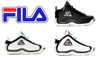 "Fila 96 ""Grant Hill"" White/Navy-Red Basketball Hi Top Mens Retro Shoes OG Color"