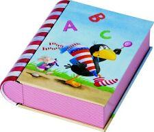 Blechdose in Buchform*Kl. RABE SOCKE ABC*Schultüte*Schulanfang*Schulstart*10x12*