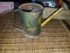 Vintage 1938 Disney Donald Duck Donkey Litho Tin Watering Can Pitcher Ohio Art