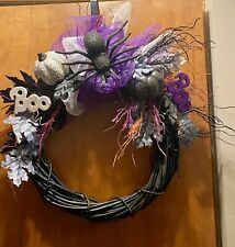 Halloween 22in Wreath Hand Crafted