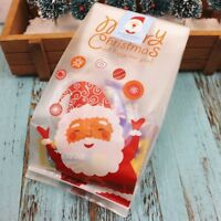 Claus Christmas Candy Bag For Party Home Decor Candy Bag Gift Packing Bags