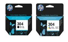 Genuine HP 304 /  Black / Colour Ink Cartridges For DeskJet 2632 Printer