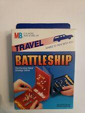 1986 Milton Bradley Travel Battleship Strategy Game Unopened Sealed 4419