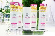 Shiseido ZA TRUE WHITE EX POWER BLOCK UV Sunscreen Cream SPF 50+ PA++++ 50ml x 2