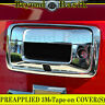 GMC SIERRA 1500 2014-2018 Chrome Tailgate Handle COVER Overlay W/CAMERA HOLE