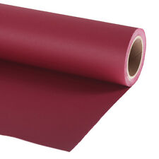Lastolite Deep Wine Red Paper Background Roll 2.72 X 11m (9ftx35ft) Save 10