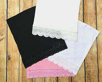 Pick 2 LACE TRIM Bella Vonna Trendy Maternity Tube Top Belly Bands NWT Nursing