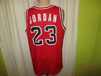 Chicago Bulls Original Champion NBA Authentic Trikot + Nr.23 Jordan Gr.XL