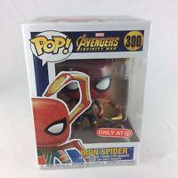 Funko POP Iron Spider (Spider-Man) Avengers Infinity War Target Exclusive #300