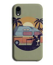 Working From Home Camper Van Phone Cover Case Vans Camper Office Worker J091
