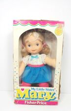 Fisher Price 1984 My Little Sister Mary strapped in box 0200