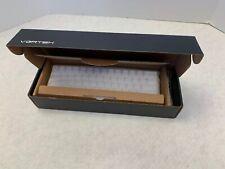Vortex Pok3r 60% White Mechanical Keyboard White Cherry MX Brown Switches NO RGB