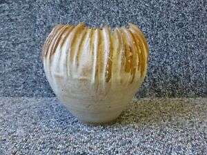 Ann Whalley Studio Pottery Vase Signed AW