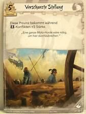 Legend of the Five Rings LCG - 1x #017 Verschanzte Stellung - Base Set deutsch