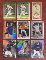 Lot of (9) 2019 Topps Bowman Chrome Museum KYLE TUCKER Rookie Holo RC Astros🔥