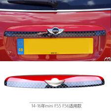Rear Trunk Lid License Plate Cover for Mini Cooper F55 Hardtop F56 Hatchback F5