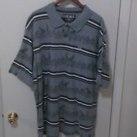ECKO UNLIMITED Men's Short Sleeve Casual Graphic Polo Size XXL