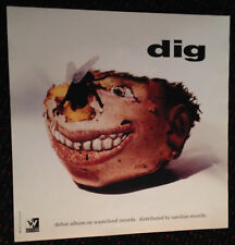 Dig Believe 24x24 promo poster Wasteland 1993 The Weirdos Thelonious Monster
