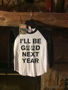 """Star Wars """"I'll Be Good Next Year"""" Youth Shirt"""