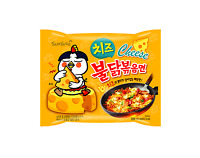 Korean Cheese Buldak Bokkeum Myun Fire Chicken Hot Spicy Noodle Ramen