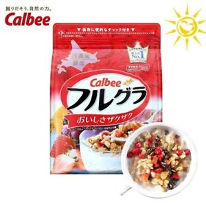 10 Pack Calbee Fruits Granola Cereal Healthy  Japan Breakfast 700grams EXPRESS