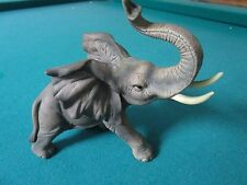 "Andrea By Sadek Ceramic TRUNK UP AFRICAN ELEPHANT #7999 Japan 5 1/2""[A]"