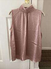 Ladies Zara Pink Sleeveless Top Size XS Brand New