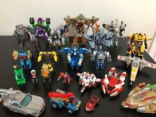 Transformers lot 2003 2004 2005 2006 23 figures and extras
