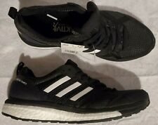 Adidas Women's Size 8 Adizero Tempo 9 Boost Running Shoes Black White B37426 New