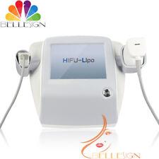 2in1 Focused Ultrasound Liposonic Cellulite Removal HIFU Face Body Slim Machine