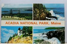 Maine ME Acadia National Park Postcard Old Vintage Card View Standard Souvenir