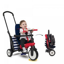 Navy 5-in-1 Toddlers Folding Tricycle 10-36 Months Baby Smart Trike Kid Fun Ride